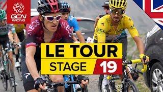 Tour de France 2019 Stage 19 Highlights: Chaos On The Col de l