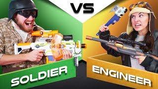 NERF Choose Your Hero Battle!