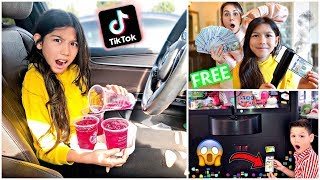 Testing VIRAL TikTok Life Hacks... **GONE WRONG** (Part 1)