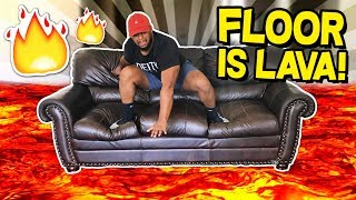 THE FLOOR IS LAVA!! | Hot Lava