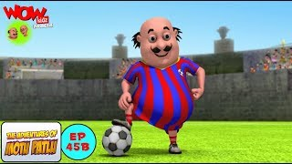 Pertandingan Bola Motu Patlu - Motu Patlu dalam Bahasa - Animasi 3D Kartun