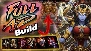 Smite: Full AD Kali Build - THIS BUILD ACTUALLY DESTROYS PEOPLE?