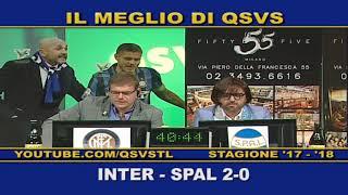 QSVS - I GOL DI INTER - SPAL 2-0 TELELOMBARDIA / TOP CALCIO 24