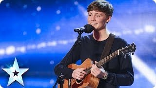 15 year old James Smith sings Nina Simone's Feeling Good | Britain's Got Talent 2014