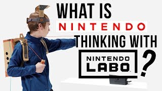 What Is Nintendo Thinking With 'Nintendo Labo'?