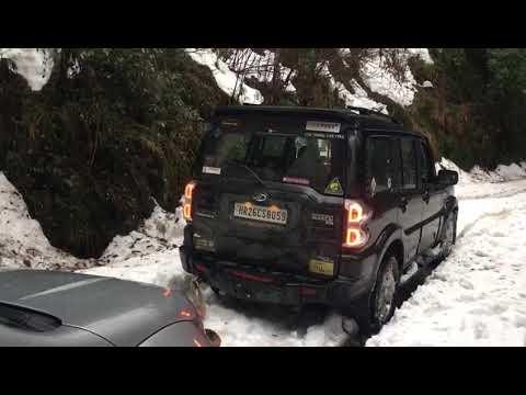 Xxx Mp4 Mahindra Scorpio 4WD Tows XUV500 2WD Through The Snow 3gp Sex