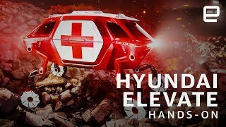 Hyundai Elevate First Look at CES 2019