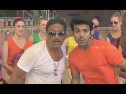 Gulabi Kallu Rendu Song Making - GAV Govindudu Andarivadele - Ram Charan, Kajal Aggarwal