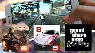 Redmi 4 (2GB Ram) Extreme Gaming - MC 5, Asphalt 8, GTA SA - Hindi