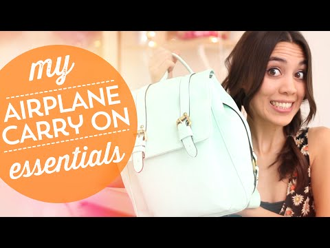 My Airplane Carry On Essentials ✈