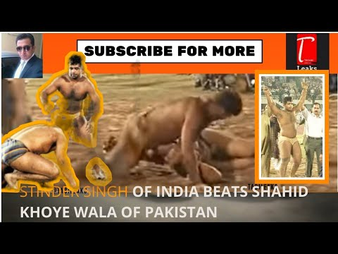 Xxx Mp4 Stinder Singh Pahelwaan Beats Pakistani Shahid Khoye Wala Pahelwaan Desi Wrestling 3gp Sex