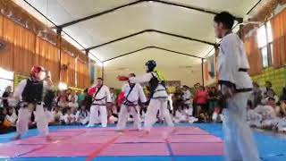 Tang Soo Do Kuching Championship 2018- Ryan Sim vs Jordan Then