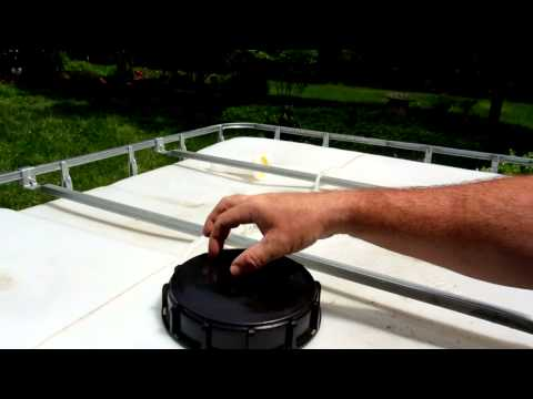 IBC Tote Overview - For use with Rain Barrel Water Collection
