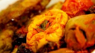 Dolmeh (Mixed) dolme cabbage tomato eggplant mexican squash and bell pepper recipe