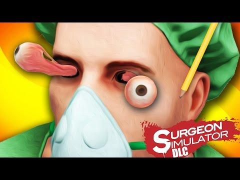 OPERACION DE OJOS EXTREMA Surgeon Simulator DLC