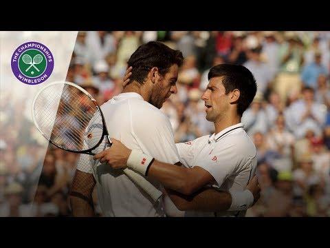 Novak Djokovic vs Juan Martin del Potro Wimbledon semi final 2013 Extended Highlights