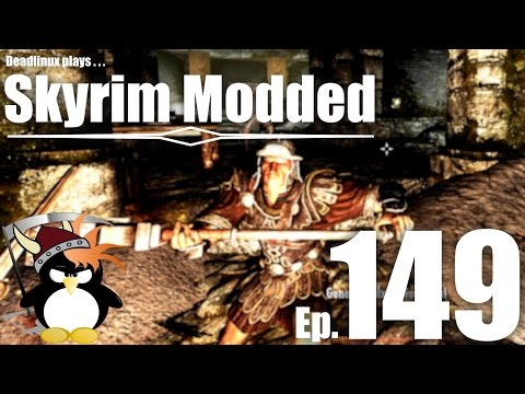 Fort Frostmoth and General Carius! - Skyrim Modded Ep 149