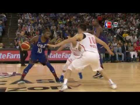 watch USA vs China Exhibition Game Full Highlights 07.26.16