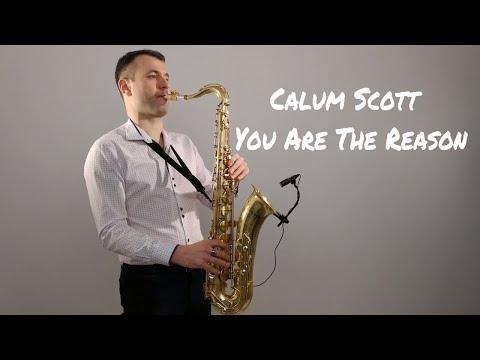 Calum Scott - You Are The Reason [Saxophone Cover] by Juozas Kuraitis