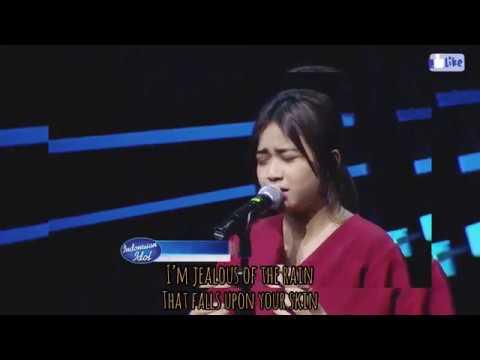 Jealous - Labrinth   Cover by Brisia Jodie (Bianca Jodie) idol dan liriknya (video original)