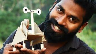 simplest robot in the world ഒരു കുഞ്ഞൻ റോബോ ഉണ്ടാക്കിയാലോ | M4 Tech |