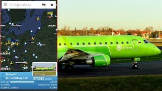 Where Are You Going S7 Airlines? Flies in the wrong direction for an hour!