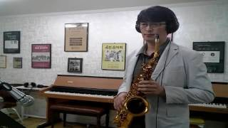 Dasperado  Warren Hill (Cover)               Copy&Play Jung--Ho Song Alto Saxophone