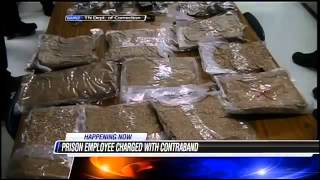 BUSTED! Corrections Officer Arrested For Bringing Cell Phones, Marijuana Into Prison!