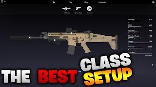BEST CLASS SETUP TO USE in Operation Scorpion