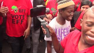 Must Watch : EFF Leader Julius Malema Campaigning in KwaMashu