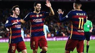 GOALS | BARCELONA 6 vs 1 CELTA | 14/02/2016
