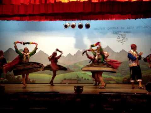 Danza alegre Cuzco Paras