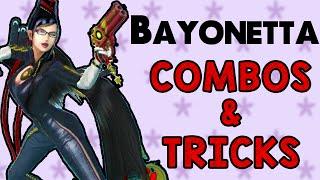 Bayonetta Combos & Tricks! (Smash Wii U/3DS)