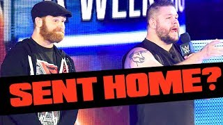 BACKSTAGE UPDATE ON WHY KEVIN OWENS AND SAMI ZAYN WERE SENT HOME!