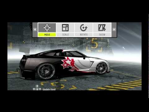 Need For Speed ProStreet customized cars Nissan GT R R 35 Tutorial