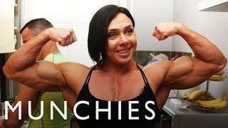 The Female Bodybuilder Blended Chicken Shake