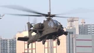 ROK ARMY AH-64E first arrived in Busan, KOREA