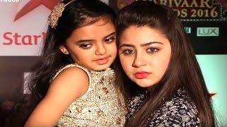 Cute Ruhanika Dhawan  Aka Ruhi At STAR Parivaar Awards 2016