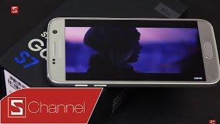 Schannel - Mở hộp Galaxy S7 Silver Titanium: Không một tính từ nào có thể miêu tả vẻ đẹp của em nó