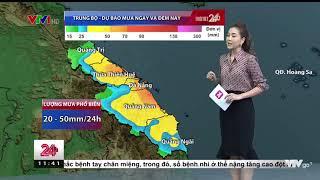 Dự báo thời tiết trưa 12/10: Miền Trung tiếp tục mưa nhiều
