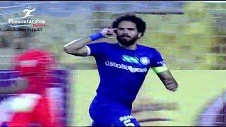 """الهدف الأول لـ سموحه امام انبي """" السيد فريد """"  الجولة الـ 18 الدوري المصري"""