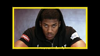 Anthony Joshua slams Tyson Fury versus Deontay Wilder fight as nothing more than a money-grab