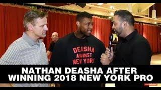 NATHAN DE ASHA WINS 2018 NEW YORK PRO!