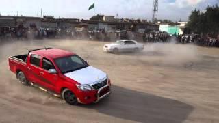 استعراض سيارات في كربلاء حي الصناعي 2