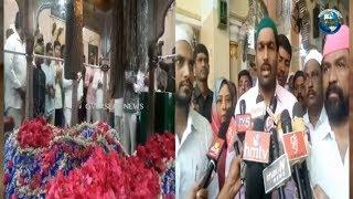 Dargah Yousufain Visits & Offered Chader by Dy. Mayor Baba Fasiuddin, Inayath Ali Baqri