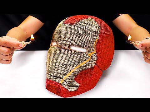 Crazy Super Hero Matchstick Creations