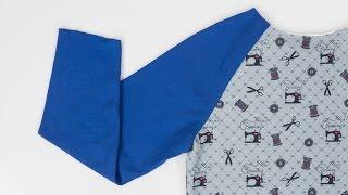 How to Sew a Raglan Sleeve