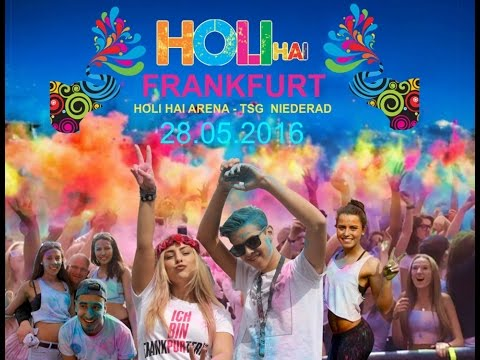 HOLI HAI  -  Festival of Colors - World's Biggest Color party - Farbfest