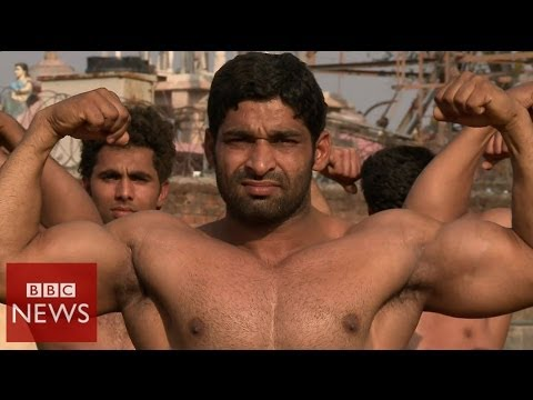The Indian village famous for its bouncers - BBC News