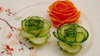 Salad Making Decorations Competetion in School for Kids,Different styles of cutting and Plating